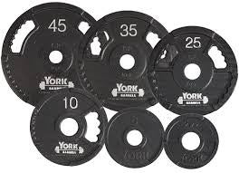 "York 2"" G-2 Olympic Dual Grip Plate"