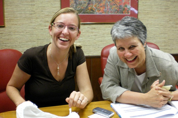 Kim and Caroll at PBE in Ohio