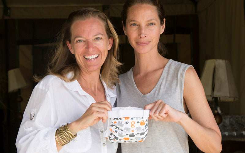 Founder of EMC, Christy Turlington Burns, and g co-founder, Kim Graham-Nye