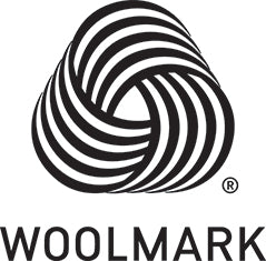 Woolmark - 100% Pure New Wool Certification Logo