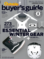Outside® Magazine 2018 Winter Buyer's Guide featuring Snowshed®