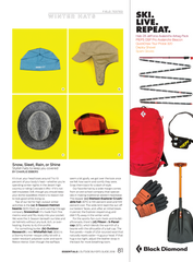 Merino Wool Helmet Beanie by Snowshed® USA - Outside Magazine page 81