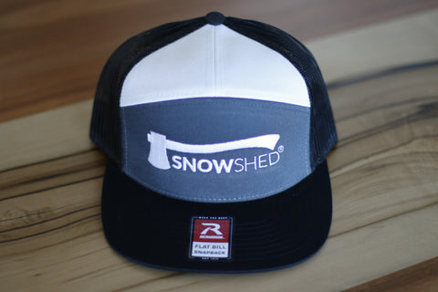 Snowshed trucker hat - snow shed