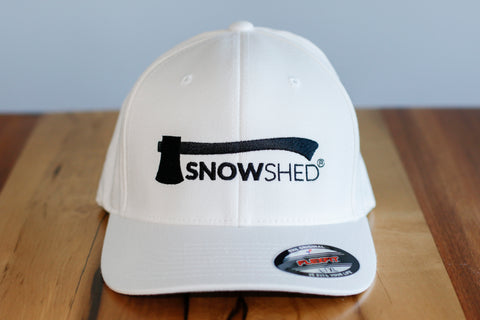 Snowshed wool FlexFit hat - snow shed