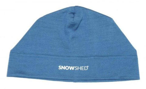 3-Season Merino Wool Beanie - BLUE