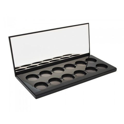 12 SHADE EMPTY MAGNETIC PALETTE