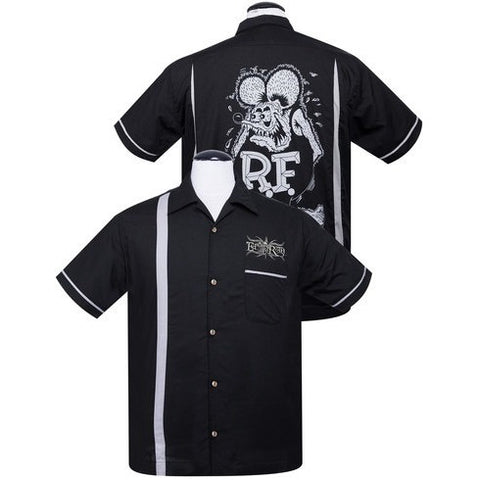 Rat Fink Kustoms Bowler Button Up