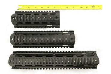 7in 10in 12in quad rails