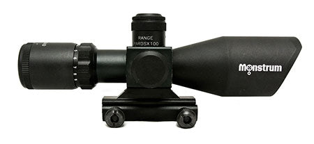Monstrum Tactical 3-9x40 scope with BDC reticle