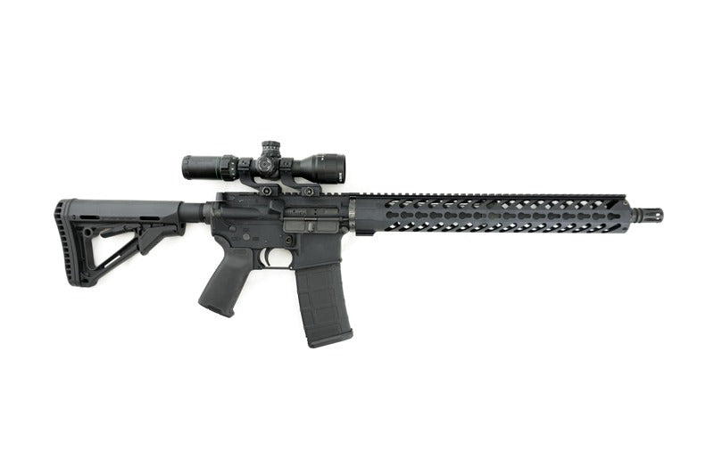 AR-15 with KeyMod Rail Handguard