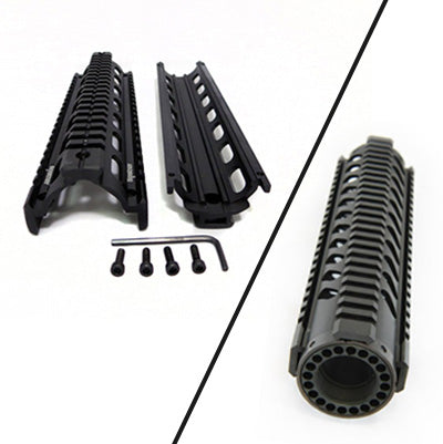 2-piece or free float quad rail: How to decide which quad rail is right for you
