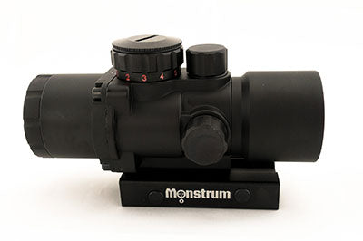 Monstrum Tactical 3x30 Prism Scope with Red/Green Illuminated reticle