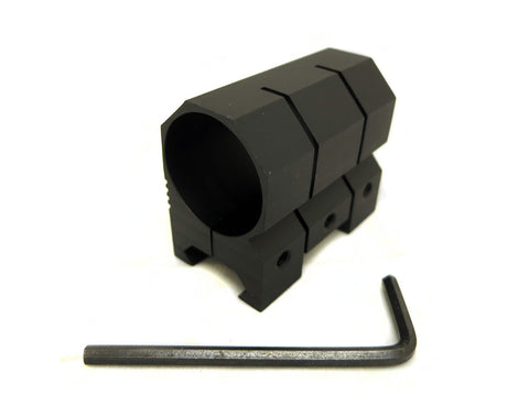 1 inch Diameter Flashlight Mount for Picatinny Rails - Accessories - Monstrum Tactical - 1