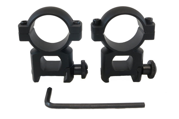 1 inch Rifle Scope Rings, High Profile - Accessories - Monstrum Tactical