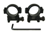 1 inch Rifle Scope Rings, Medium Profile, Picatinny Rail Mount - Accessories - Monstrum Tactical