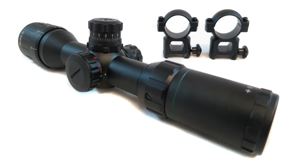 3-9x32 Rifle Scope - Adjustable Objective Lens and Range Finder Reticle - Rifle Scopes - Monstrum Tactical - 2