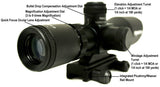 3-9x40 Tactical Rifle Scope - Range Finder Reticle - Rifle Scopes - Monstrum Tactical - 5