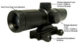 3x30 Compact Tactical Rifle Scope - BDC Reticle - Rifle Scopes - Monstrum Tactical - 3