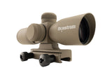4x30 Compact Tactical Rifle Scope - Mil-Dot Reticle, Flat Dark Earth - Rifle Scopes - Monstrum Tactical - 2