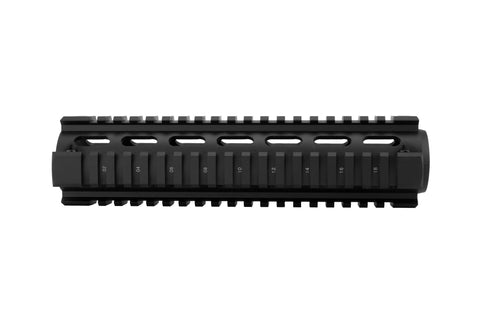 AR-15 Quad Rail Handguard - Mid Length | Drop-In | Black