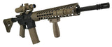 AR-15 Keymod Rail Handguard - 12 inch | Free Float | Flat Dark Earth - Quad Rails - Monstrum Tactical - 3