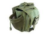 BP03 Side Carry Pack - Military Green - Tactical Gear - Monstrum Tactical - 2