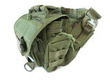 BP03 Side Carry Pack - Military Green - Tactical Gear - Monstrum Tactical - 3