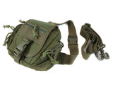 BP04 Combination MOLLE/Fanny/Sling Pack - Military Green - Tactical Gear - Monstrum Tactical - 1