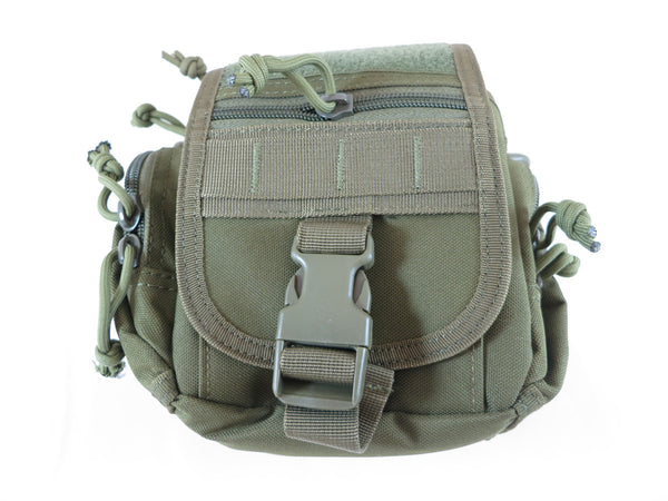BP04 Combination MOLLE/Fanny/Sling Pack - Military Green - Tactical Gear - Monstrum Tactical - 2