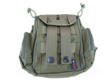 BP04 Combination MOLLE/Fanny/Sling Pack - Military Green - Tactical Gear - Monstrum Tactical - 3