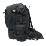 3 Day Tactical Pack - Black - Tactical Gear - Monstrum Tactical - 2