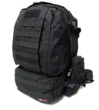 3 Day Tactical Pack - Black - Tactical Gear - Monstrum Tactical - 1
