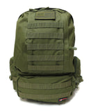3 Day Tactical Pack - Military Green - Tactical Gear - Monstrum Tactical - 4