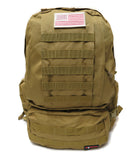 3 Day Tactical Pack - Desert Tan - Tactical Gear - Monstrum Tactical - 4