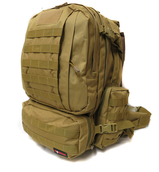 3 Day Tactical Pack - Desert Tan - Tactical Gear - Monstrum Tactical - 1