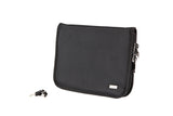 Compact (8.5 x 11 inch) Pistol Case with MagLock™ Magnetic Lining System and Locking Zipper (Ballistic Nylon)