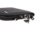 Sub-Compact (6 x 8 inch) Pistol Case with MagLock™ Magnetic Lining System and Locking Zipper (Ballistic Nylon)