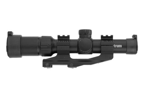 1.5-4x24 Tactical Rifle Scope - Range Finder Reticle