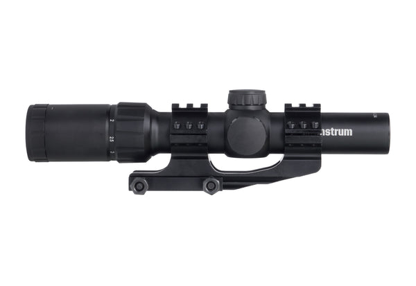 1.5-4x24 Tactical Scope - Mil-Dot Reticle