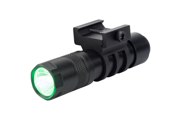 Compact 90 Lumen LED Flashlight - Green Light