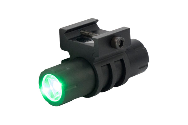 Ultra-Compact 100 Lumen LED Flashlight - Green Light