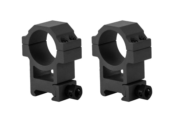 30mm Heavy Duty High Performance Scope Rings | Picatinny Mount | High Profile