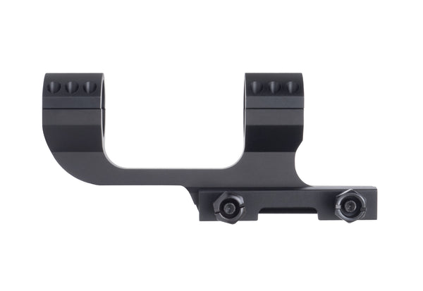 MONSTRUM TACTICAL HEAVY DUTY CANTILEVER DUAL RING SCOPE MOUNT 1 INCH IN Picatinny