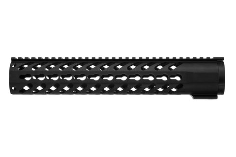 AR-15 Keymod Rail Handguard - 12 inch | Free Float | Black