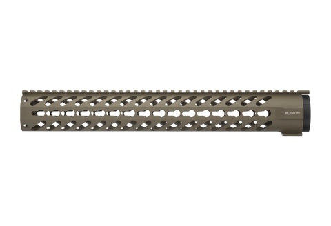 AR-15 Keymod Rail Handguard - 15 inch | Free Float | Flat Dark Earth
