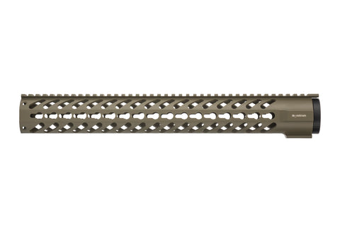 AR-15 Keymod Rail Handguard - 16.5 inch | Free Float | Flat Dark Earth