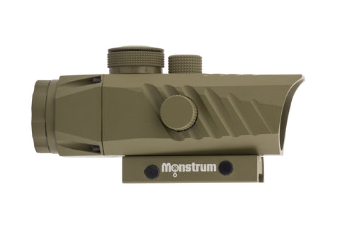 Marksman 3x30 Prism Scope, Flat Dark Earth