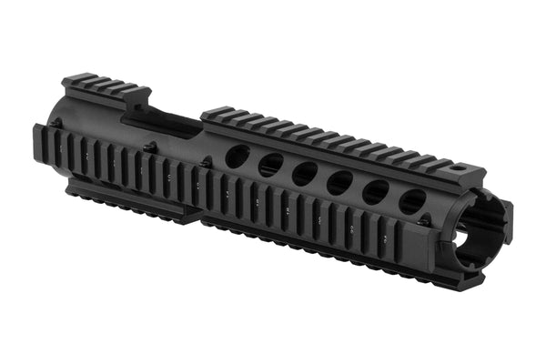 AR-15 Extended Quad Rail Handguard with FSP Cutout | Carbine Length | Drop-in