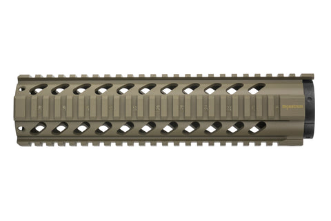 AR-15 Quad Rail Handguard - 10 inch | Free Float | Flat Dark Earth