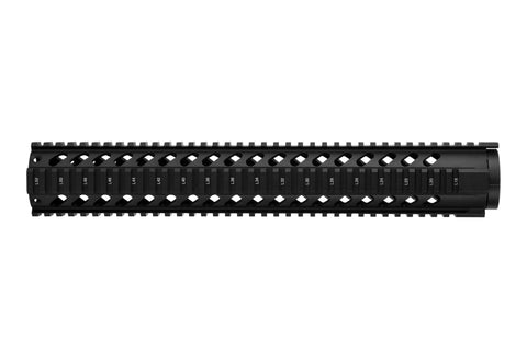 AR-15 Quad Rail Handguard - 15 inch | Free Float | Black
